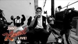 "G-eazy, Blueface & Allblack Perform ""west Coast"" On Jimmy Kimmel Live!"